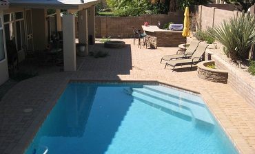 Pool Design and Landscaping After