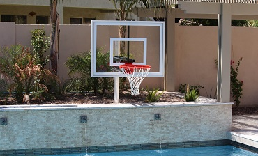 Pool Basketball Hoop